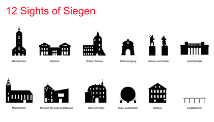12 Sights of Siegen
