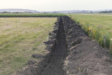 pipeline on the field