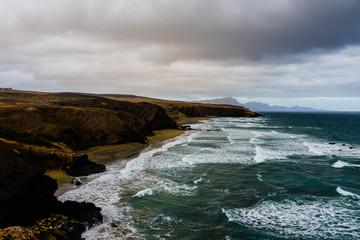 Küste, Urlaub, Fuerteventura, Filter,