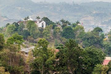 Belen church in Popayan, Colombia
