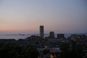 愛宕浜マリノア海浜公園 ウォーターフロント夜景