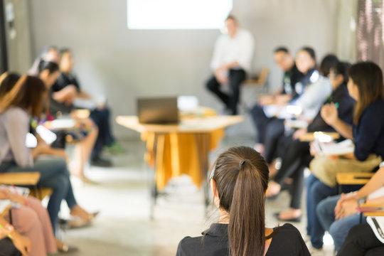 Asian Women Training Listening Meeting Concept