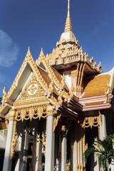 タイの寺の景色 バンコク