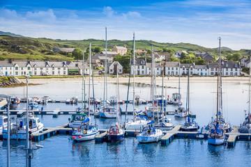 Marina of Port Ellen, Isle of Islay, Scotland