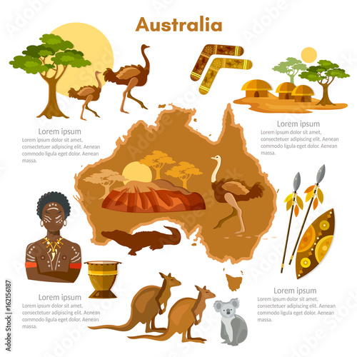 Australia infographics sights culture australian for Australian traditions