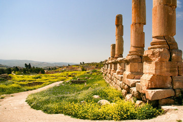 Jerash north of Amman, Jordan