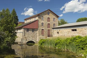 Aluminium Prints Mills Historical Old Stone Mill