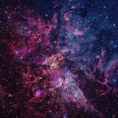 Beautiful nebula, stars and galaxies. Elements of this image furnished by NASA
