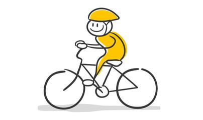 Stick Figure Series / Radsport