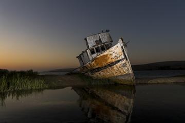 Shipwreck Near Point Reyes