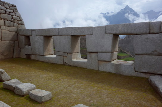 The Temple of the Three Windows in Machu Picchu