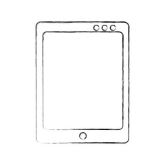 Tablet drawing work draw  vector illustration design graphic
