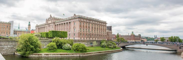 Reichstag (Riksdagshuset) Stockholm Schweden