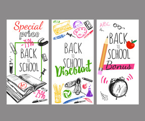 Back To School Flyer Set