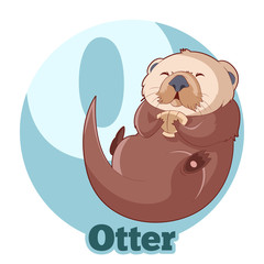 ABC Cartoon Otter