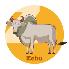 ABC Cartoon Zebu