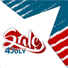 fourth of july happy independence day sale