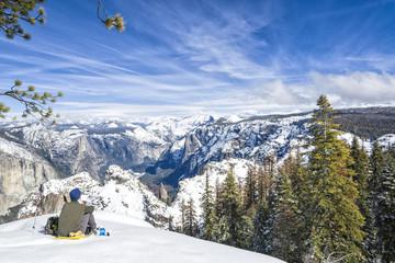 Vistas de Yosemite en invierno / Yosemite overview in winter