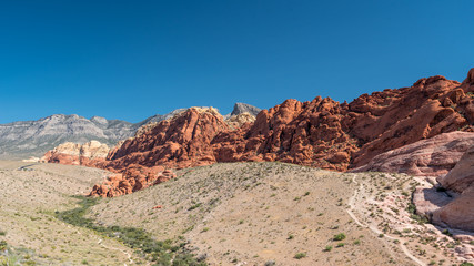 Red Sandstone in Red Rock Canyon