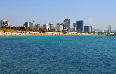 Playas Mediterráneo Barcelona