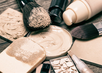 Make up products for flawless complexion