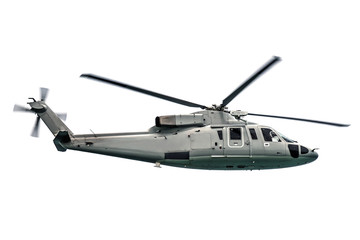 Military navy helicopter