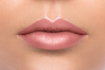Beautiful female lips
