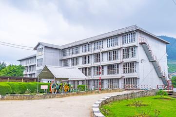 The tea factory building