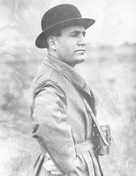 Benito Mussolini. Date: 1883 - 1945