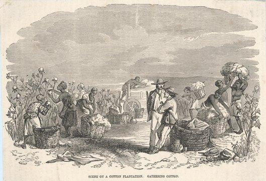 Slavery - North America. Date: circa 1860