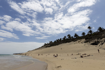 Butihondo beach in Fuerteventura