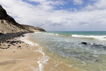 Beach of Butihondo Fuerteventura