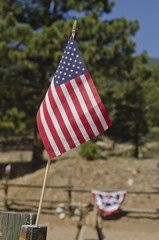 American Flag at Rodeo Corral