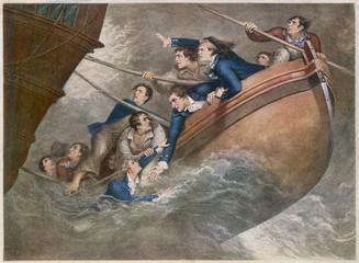 Centaur Wrecked. Date: 21 September 1782