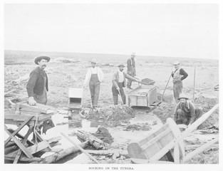 Klondike - Tundra - 1900. Date: 1900