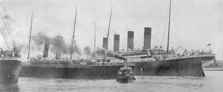 Titanic - Southampton 1912. Date: 4484