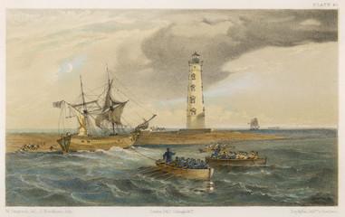 Lighthouse Chersonese. Date: 1854