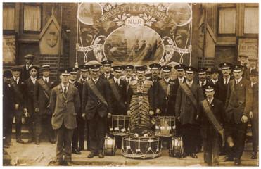 Union of Railwaymen. Date: circa 1900