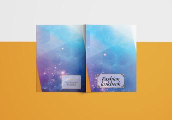 Grid Style Fashion Lookbook Layout 10