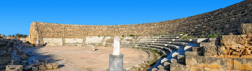 Fotorolgordijn Rudnes Salamis theatre ruins , Cyprus