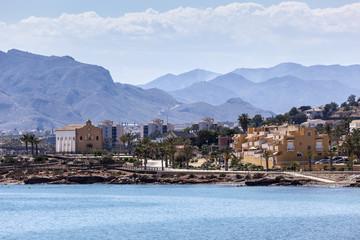 View of Isla Plana, Murcia, Spain