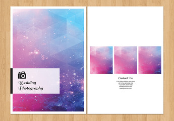 Grid Style Wedding Photography Brochure 4