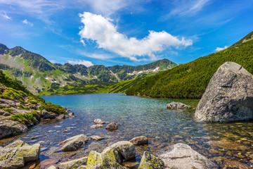 Tatry, Dolina Pięciu Stawów Polskich, Pejzaż górski