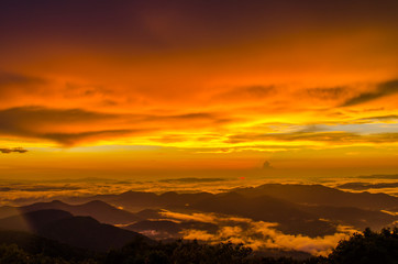 The Golden Hour from Brasstown Bald