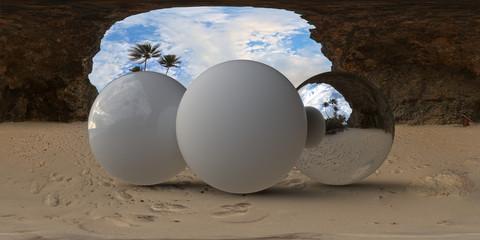 Beach Cave Entrance