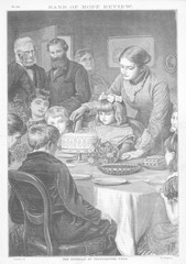 Birthday Cake Cut. Date: 1879