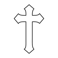 religious cross icon