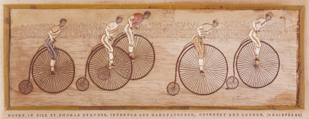 Penny Farthing Race. Date: late 19th century
