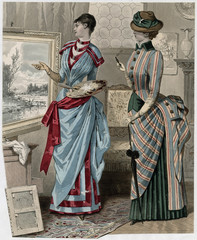 Directory Costume - 1883. Date: 1883