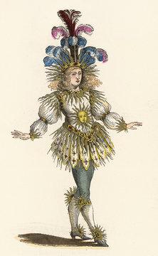 Louis XIV 'Le Roi Soleil. Date: 1638-1715